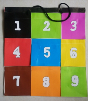 DIY Hanging Color 'n Number