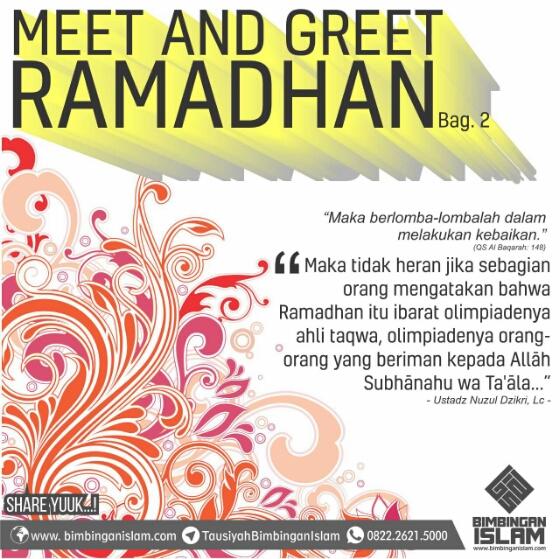 Meet and Greet Ramadhan