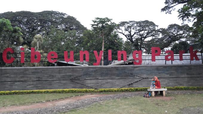 Taman Cibeunying Bandung