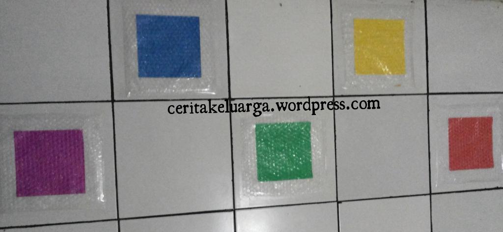 Bubble Wrap Color Step