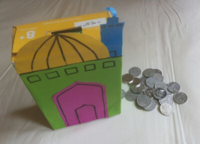 DIY Simply Money Box for Ramadhan