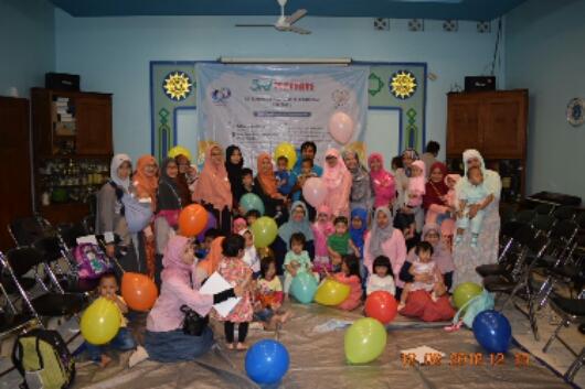 Keceriaan di Panti Asuhan Bayi Sehat Muhammadiyah Bandung