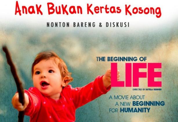 """Nonton dan Diskusi Film """"The Beginning of Life"""" Bareng IIP Bandung"""