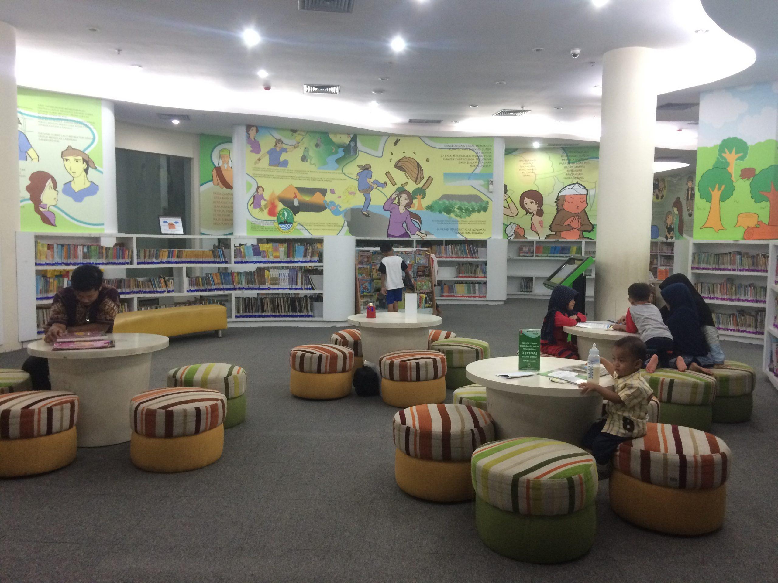 Ruang Baca Anak di Bapusipda Jabar-Bandung