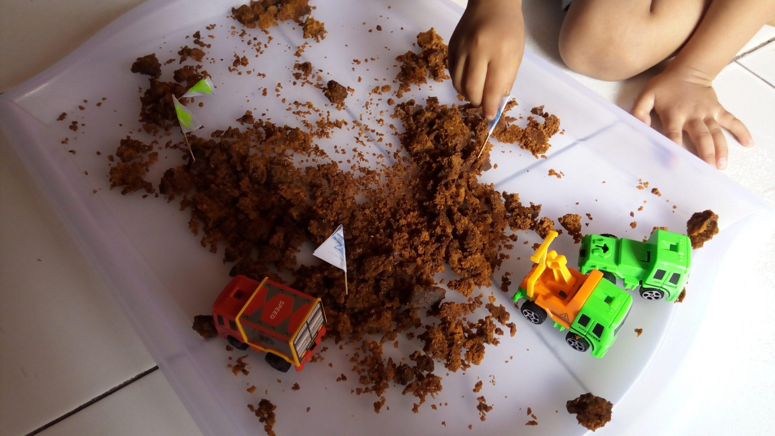 A Happy Soil Sensory Play Day
