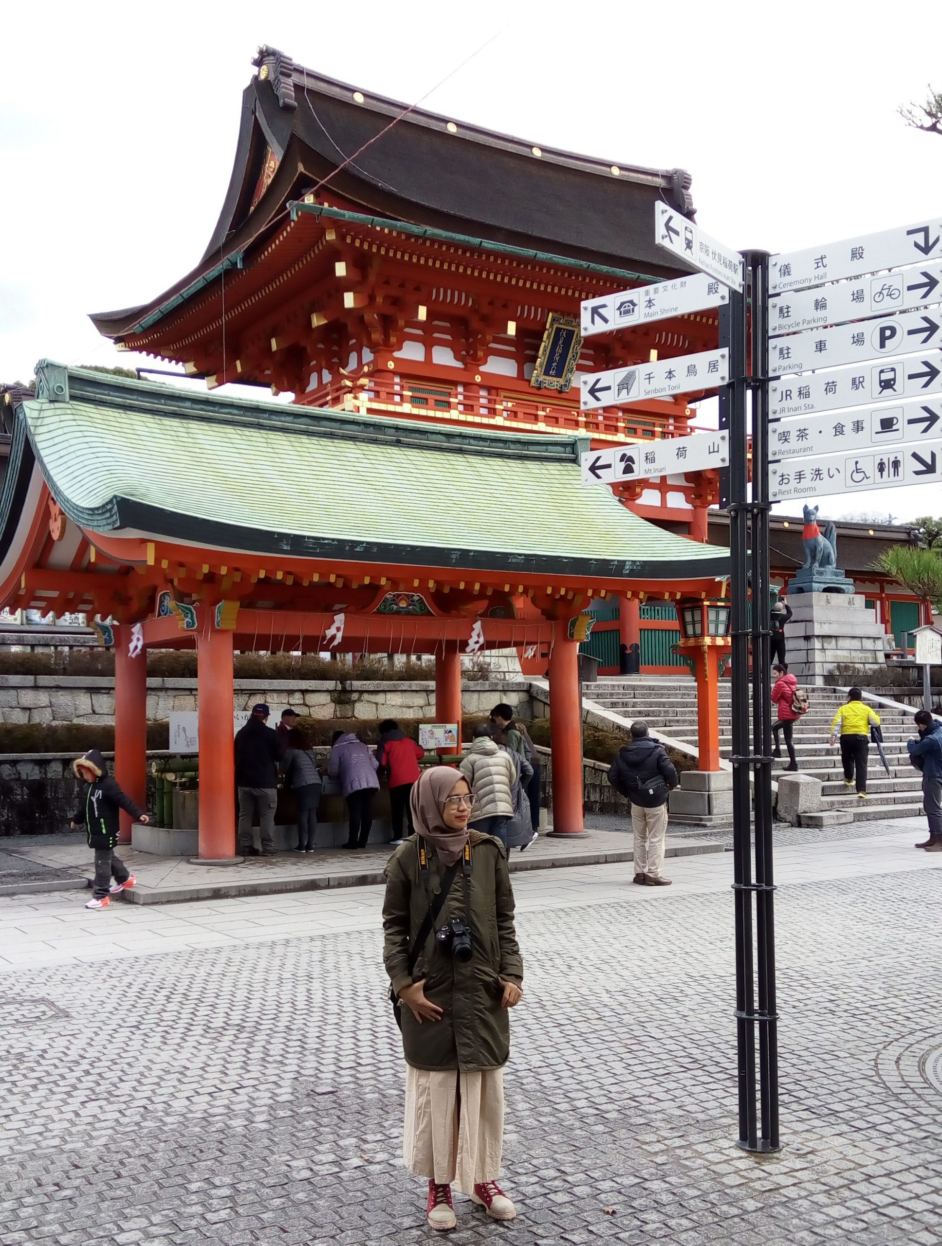 Day #3 Japan Escape : Somewhere Shrine – Kamo River – Fushimi Inari Taisha – Kiyomizu Dera – Kyoto Tower