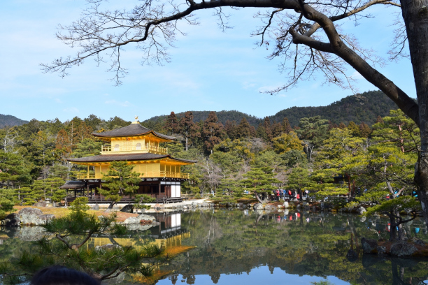 Day #2 Japan Escape : Kinkaku Ji Temple – Nijo Jo Castle – Heian Shrine, Kyoto