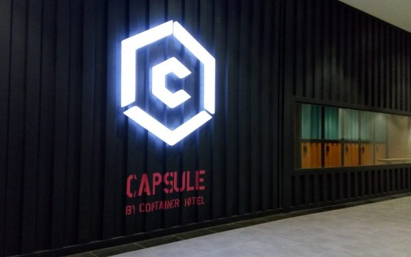 Capsule by Container Hotel at KLIA 2 Malaysia