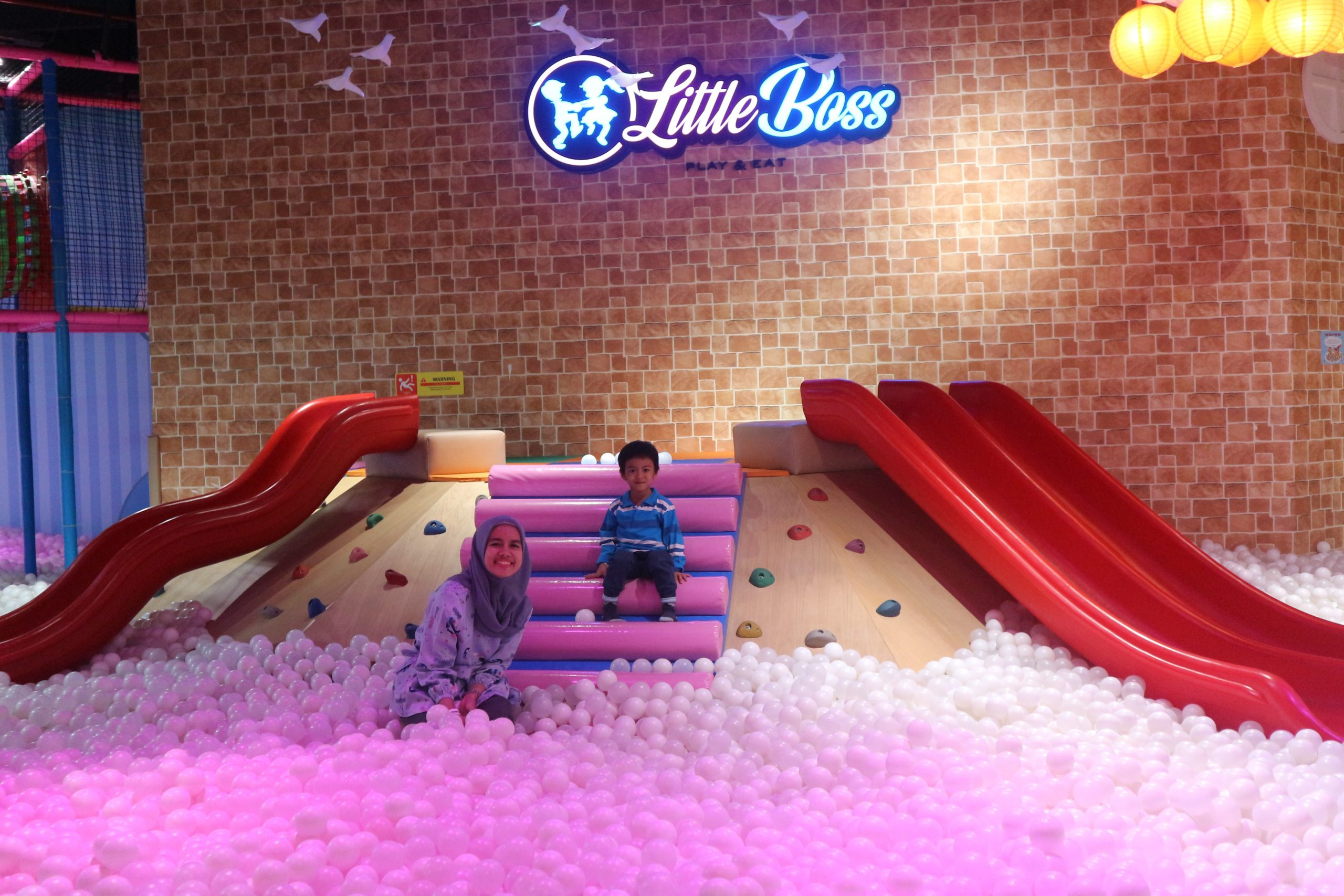 Family Time at LITTLE BOSS Play and Eat Mall Taman Anggrek Jakarta