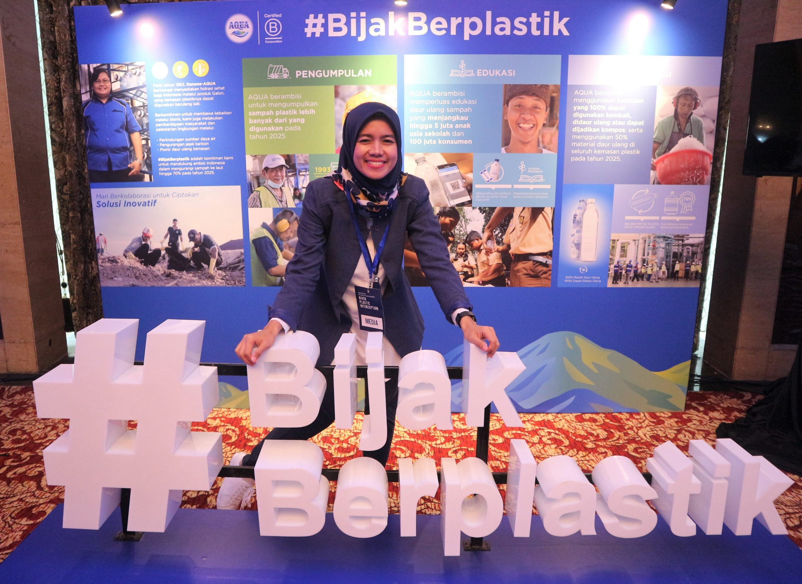 Implementasi Interceptor 001 Kerjasama Danone AQUA dan The Ocean Cleanup